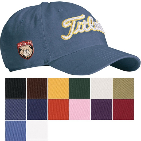 Custom Titleist (R) Unstructured Garment Washed Cap