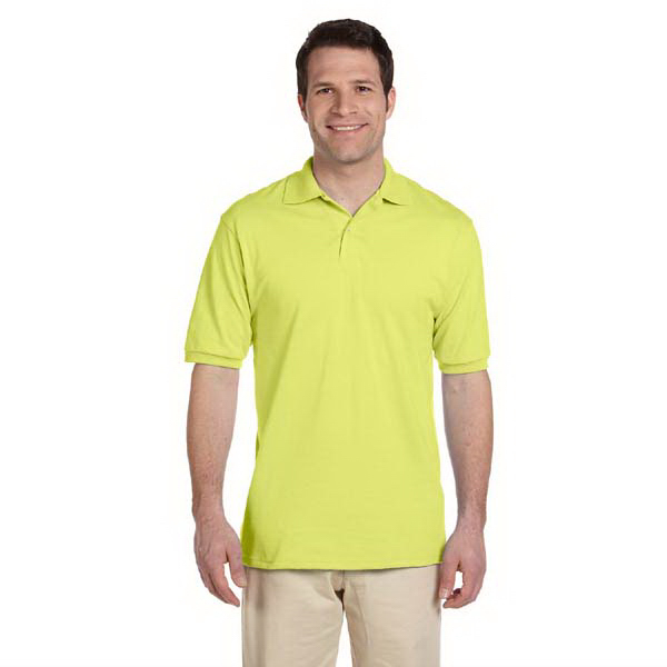 Personalized Men's 5.6 oz., 50/50 Jersey Polo with SpotShield (TM)