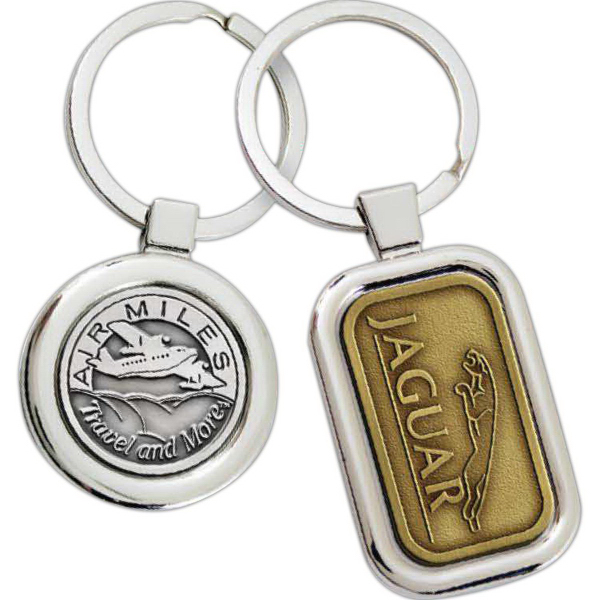 Imprinted Platinum Series Key Chain