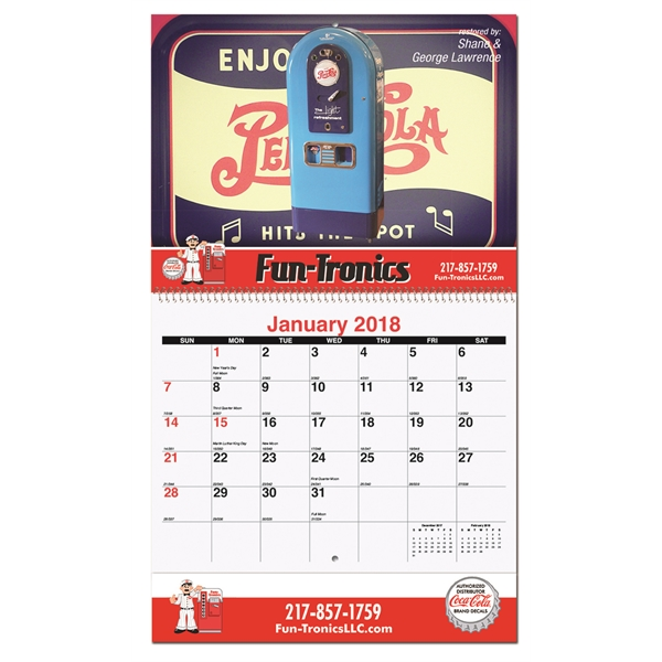 Customized Mini Wall Calendar