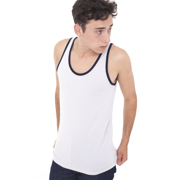 Customized Unisex Fine Jersey Tank