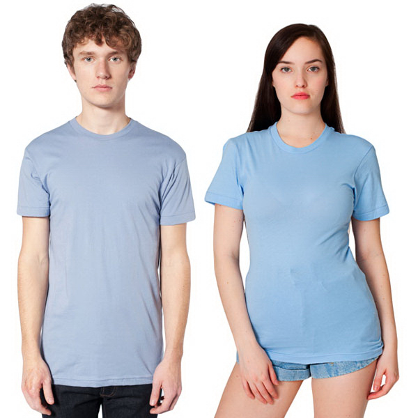Personalized Unisex Sheer Jersey Short Sleeve Summer T
