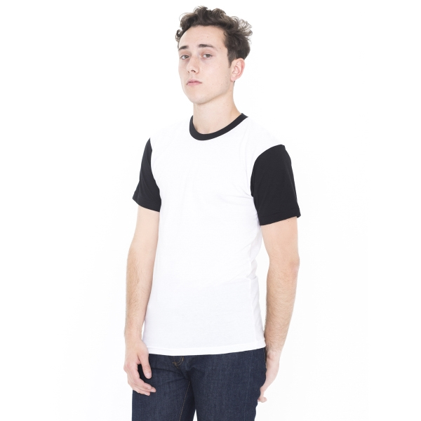 Imprinted Poly-Cotton Unisex Short Sleeve Crew Neck