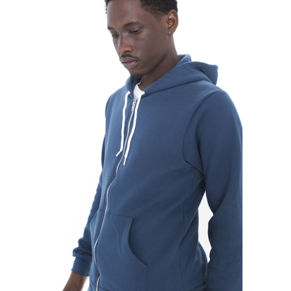 Personalized Unisex Flex Fleece Zip Hoody