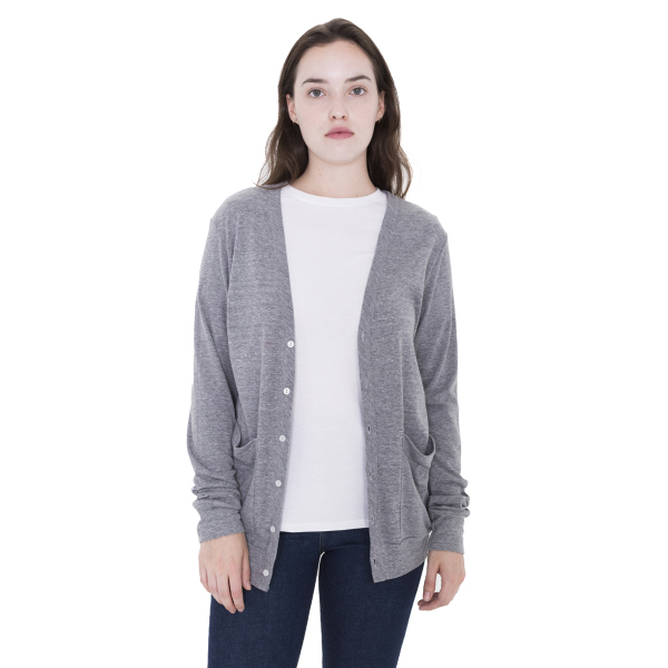 Personalized Unisex Tri-Blend Rib Cardigan