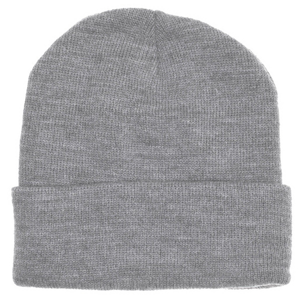 Imprinted Cuffed Acrylic Lined Beanie