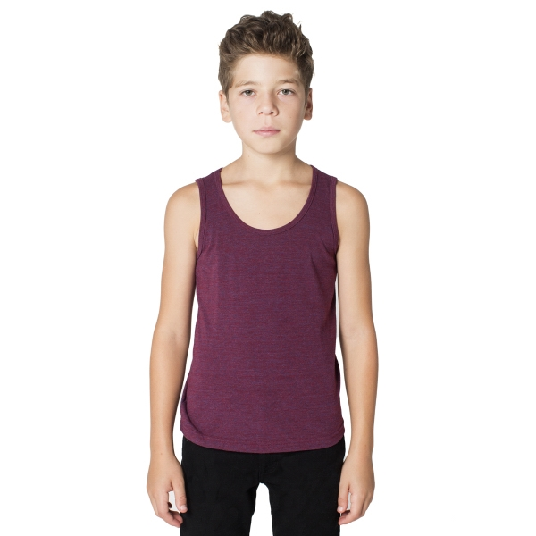 Printed Youth Tri-Blend Tank