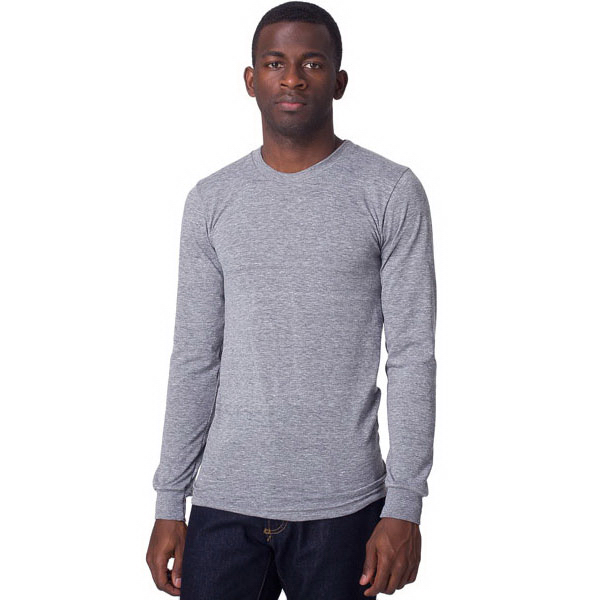 Promotional Tri-Blend Long Sleeve Shirt