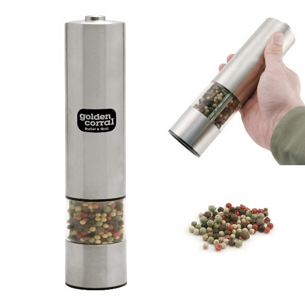 Imprinted Electric Pepper Mill with Light