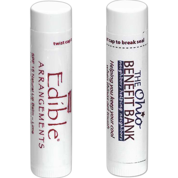 Promotional SPF 15 Natural Lip Balm