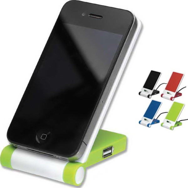Printed Cell Phone Stand with USB