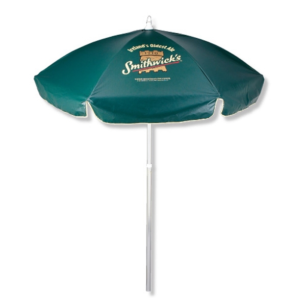 Printed Domestic Sunbrella (TM) Patio/Cafe Umbrella
