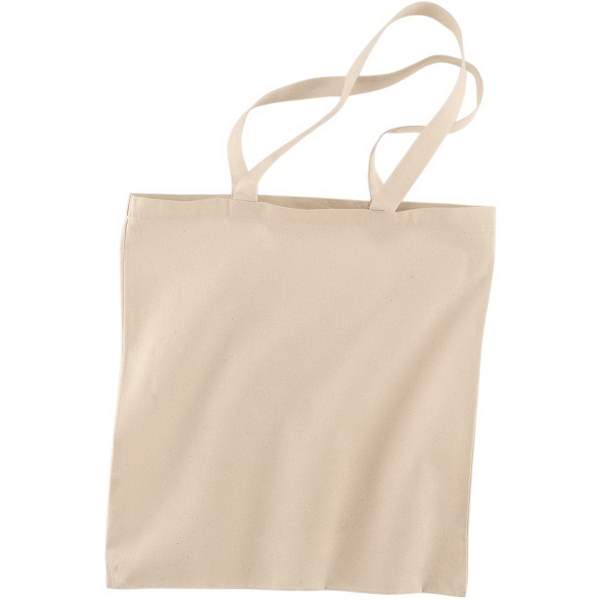 Printed Cotton Canvas Tote