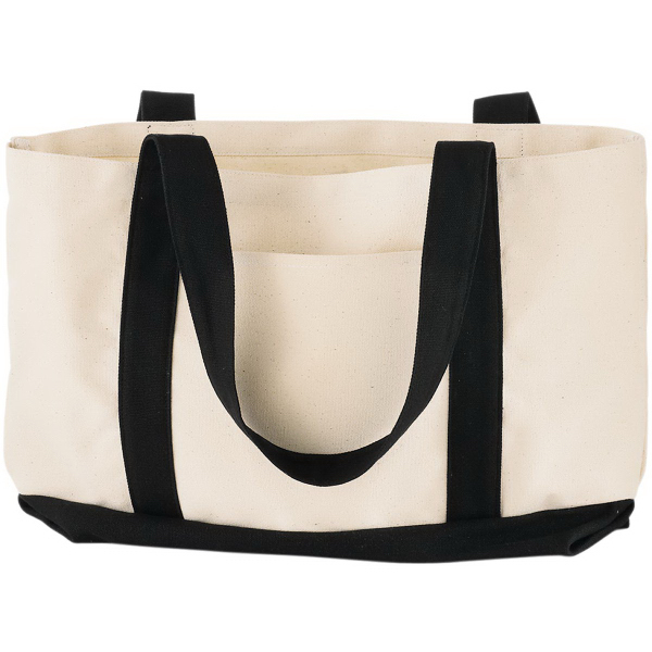 Imprinted Cotton Canvas Boat Tote