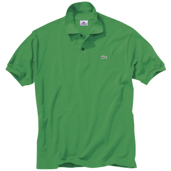 Custom Lacoste Men's Short Sleeve Pique Polo