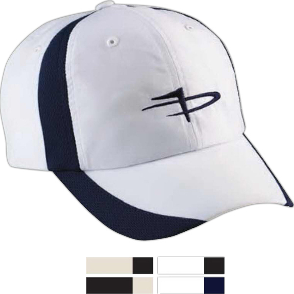 Custom Page & Tuttle (R) Cool Swing (R) Performance Color Block Cap