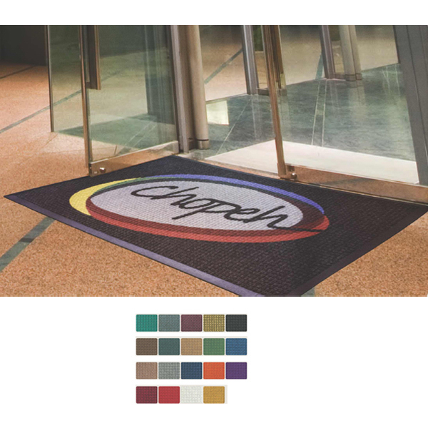 Customized Waterhog (TM) Inlay High Traffic Mat