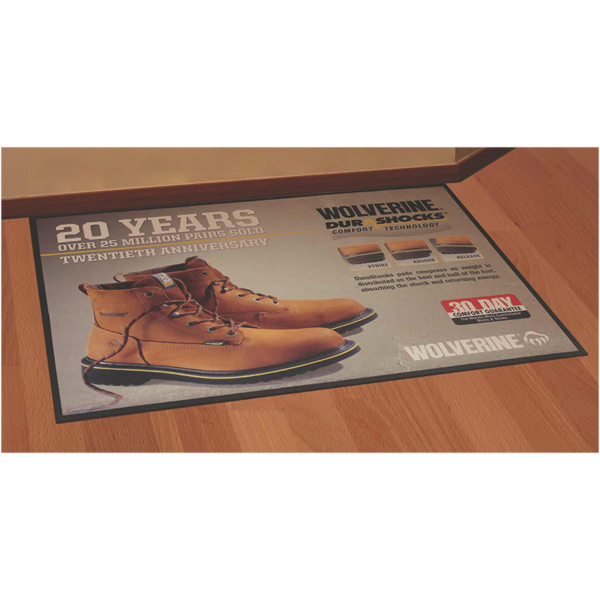 Customized Floor Impressions (TM) High Traffic Indoor and Outdoor Mat