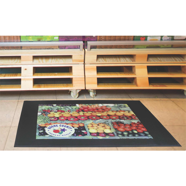 Customized SuperScrape (TM) Impressions High Traffic Mat