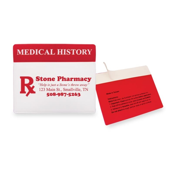 Custom My Medical History Organizer