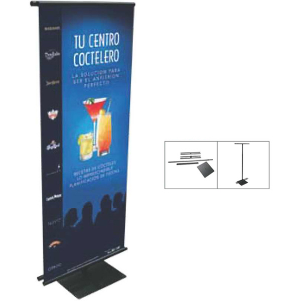 Promotional Adjustable Banner Stand & Banner Display