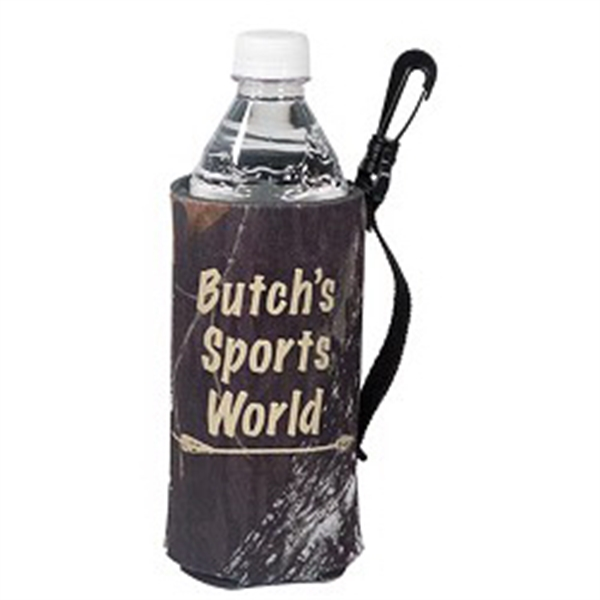 Customized Trademark Camo Scuba Bottle Bag (TM)