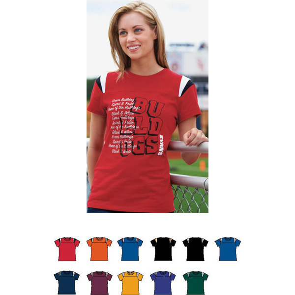 Personalized Ladies Junior Fit Rush Tee