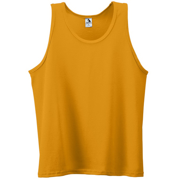 Imprinted Adult Poly/Cotton Athletic Tank