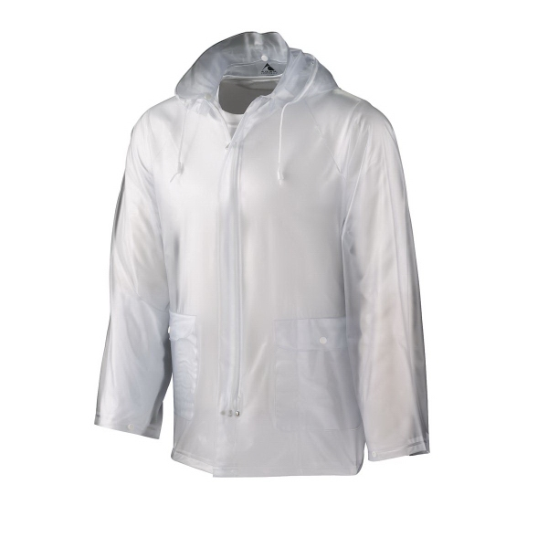 Imprinted Youth Clear Rain Jacket