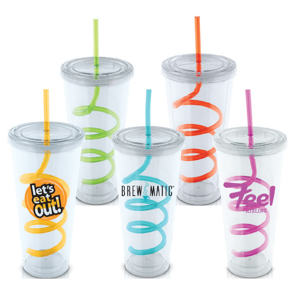 Custom Eddy 20 oz Double Wall Acrylic Tumbler