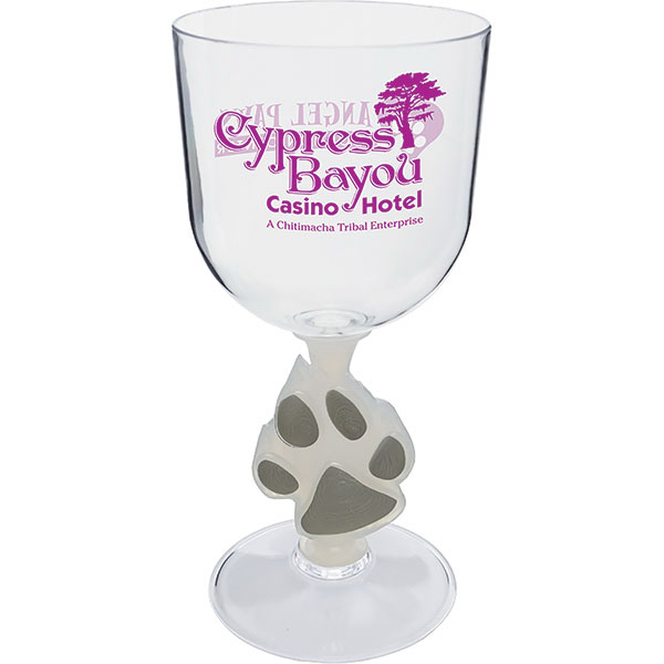 Imprinted 14oz Novelty Stem Goblet Glass