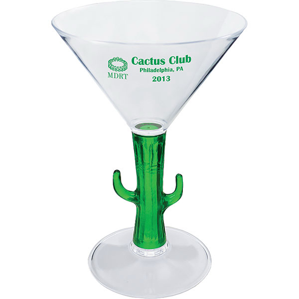 Promotional 7oz Novelty Items Martini Glass