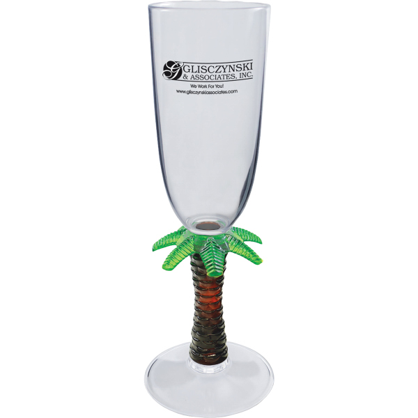 Customized 7oz Novelty Stem Champagne Glass