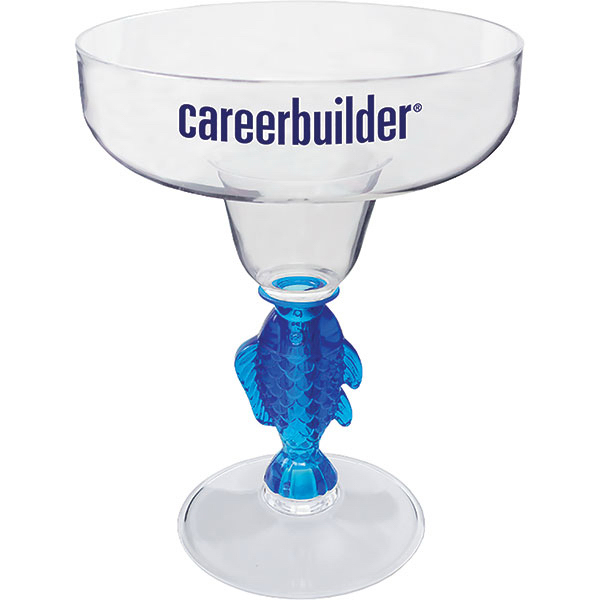 Personalized 12oz Novelty Stem Margarita Glass