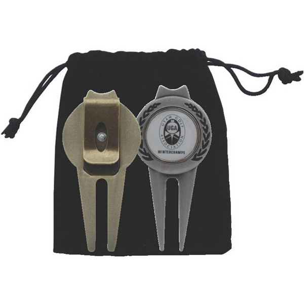 Printed Magnetic Ball Marker/Divot Tool with Clip