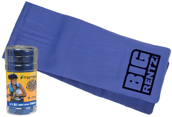 Imprinted Chilly Sport Towel