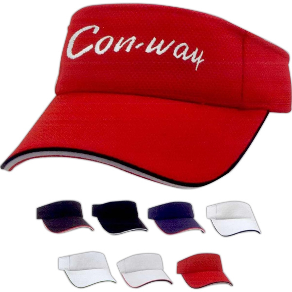 Personalized Cool Mesh double Sandwich Visor