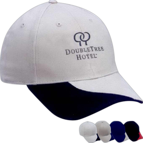 Promotional The Slash-Structured Brushed Cotton Twill Cap
