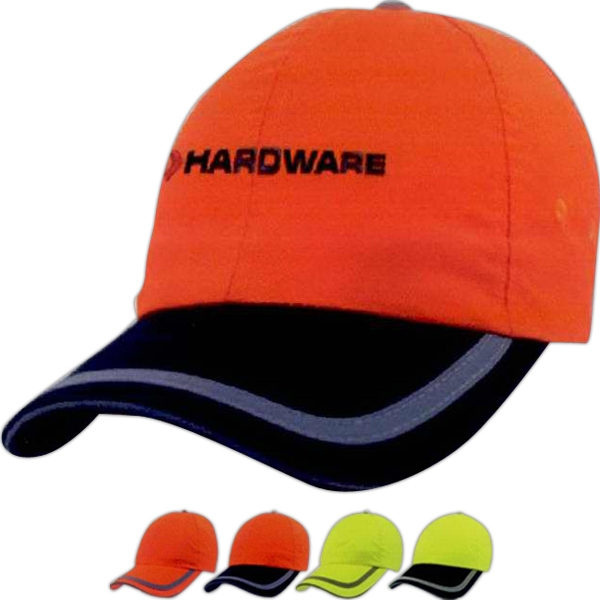 Imprinted Six Panel Safety Cap