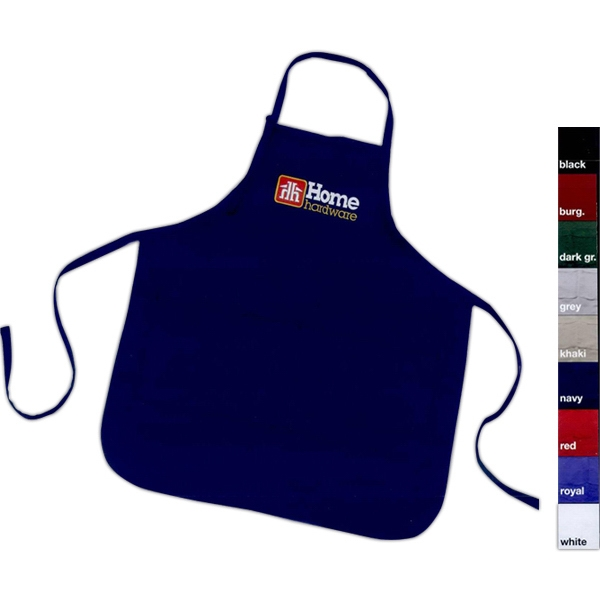 Imprinted Long Apron (lg-xl)