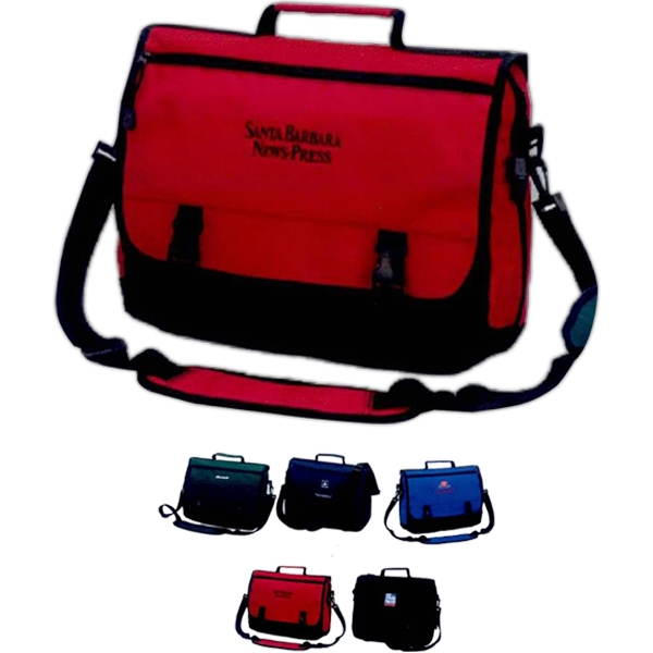 Imprinted Expandable Briefcase