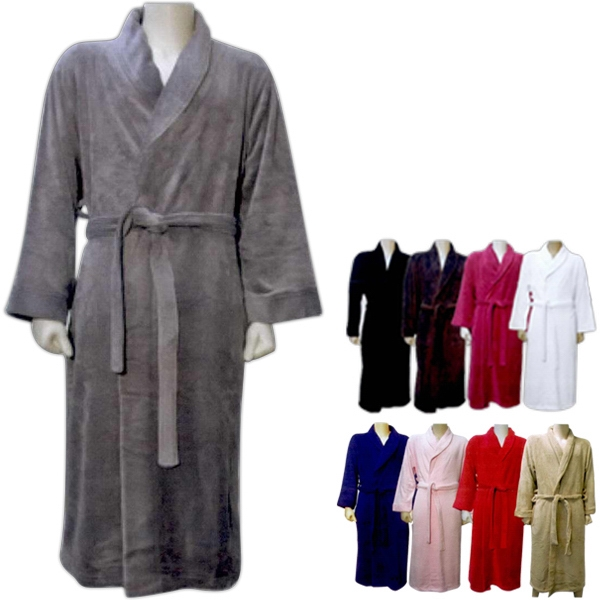 Customized Luxury Plush Robe