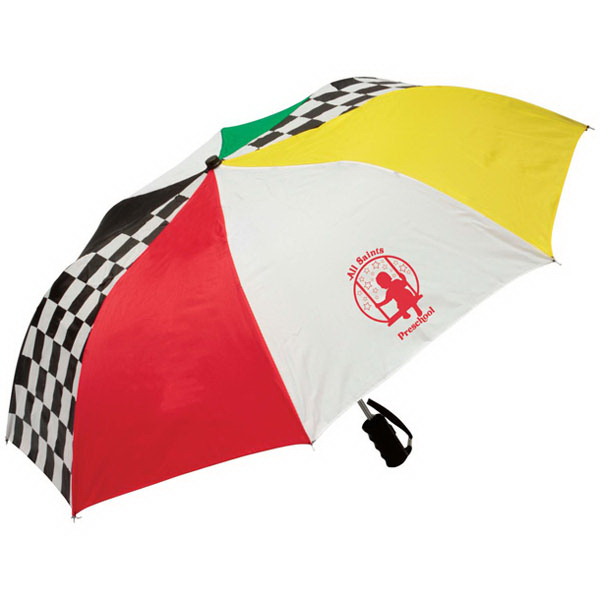 Personalized Race Day Umbrella