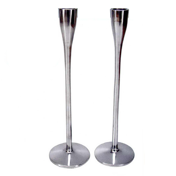 Personalized Designer Series Aluminum Candlesticks
