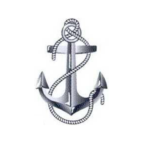 Personalized Temporary anchor tattoos