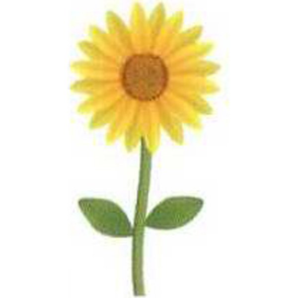 Personalized Temporary Sunflower Tattoos