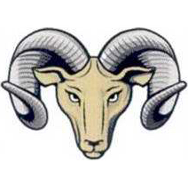 Printed Temporary Ram Head Tattoos
