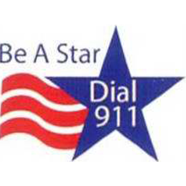 Printed Temporary Be A Star Dial 911 Tattoos