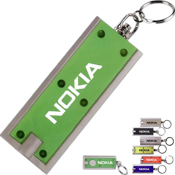 Promotional Key Holder with Flashlight