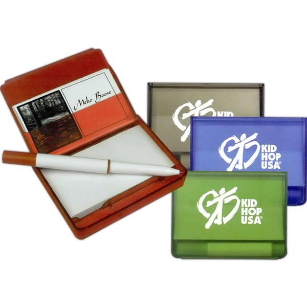 Promotional Notepad / Business Card Holder